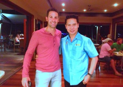 With Jamie Whincup