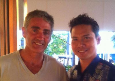 With Mick Doohan